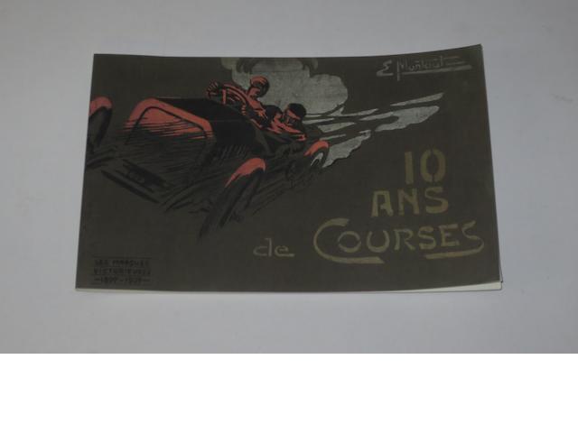 Ernest Montaut: Dix Ans de Course, 1897-1907,