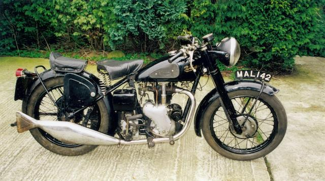 1951 Velocette 347cc MAC Frame no. 9519 Engine no. 15906
