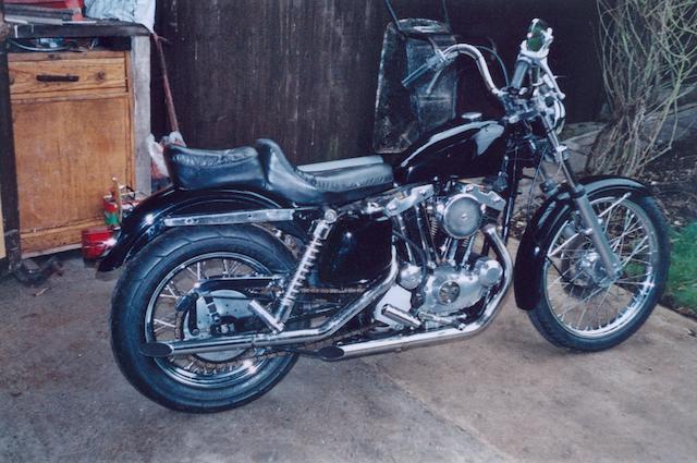 1974 Harley-Davidson 998cc Sportster Frame no. 3A34289H4 Engine no. 3A34289H4