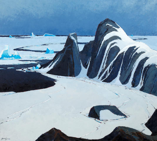 Charles Anthony Law (Canadian, 1916-1996) Arctic Spring, Brevoort Island