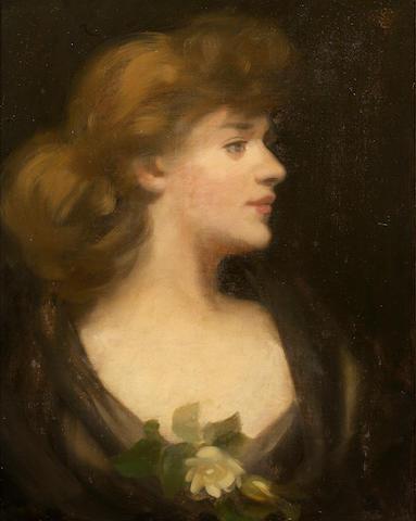 James Stuart Park (British, 1862-1933) The Rose