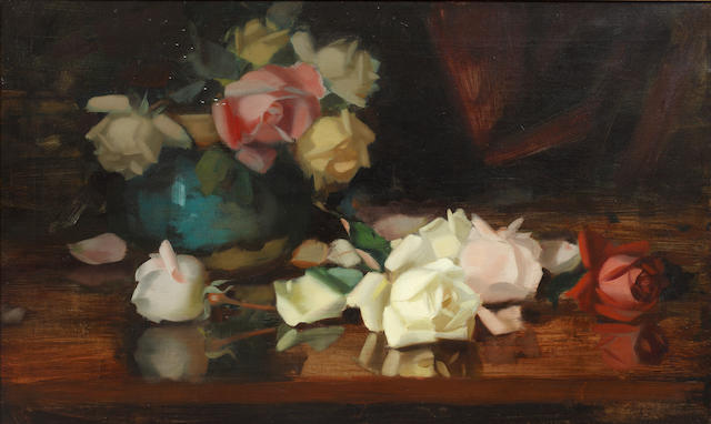 James Stuart Park (British, 1862-1933) Roses