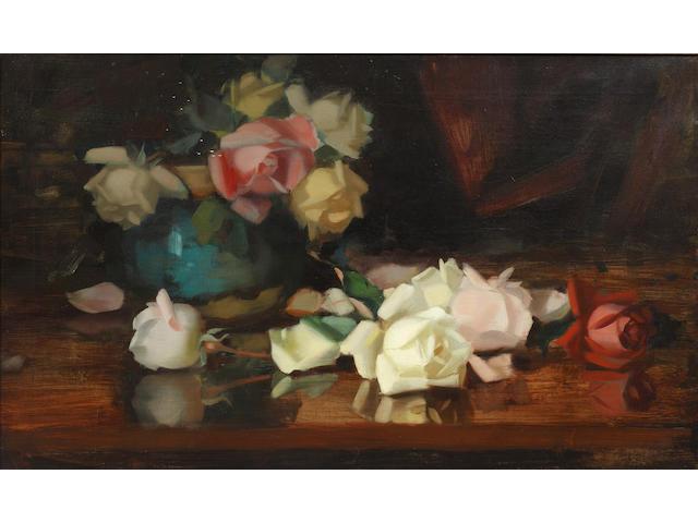 James Stuart Park (British, 1862-1933) Roses