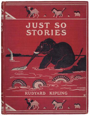 KIPLING (RUDYARD) Just So Stories For Little Children, FIRST EDITION, 1902