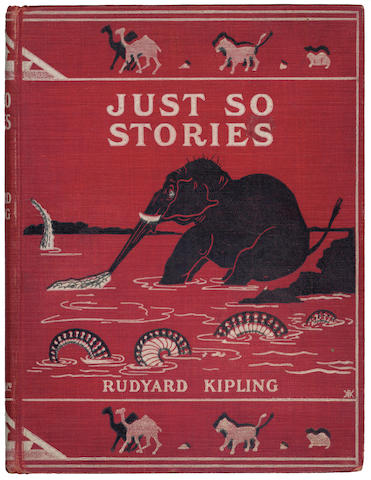 KIPLING (RUDYARD) Just So Stories For Little Children, FIRST EDITION, 1902
