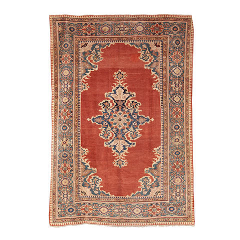 A Mahal carpet, West Persia, 384cm x 267cm