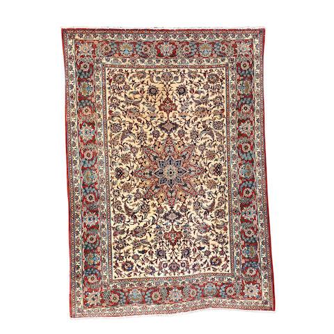 An Isfahan rug, Central Persia, 200cm x 145cm