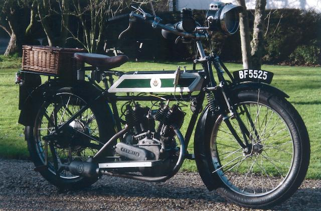 1913 Rex 896cc V-twin Frame no. 23276 Engine no. 10852