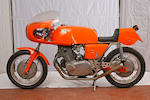 1972 Laverda 750SFC Production Racing Motorcycle Frame no. 750.C.8333 Engine no. 750.8333