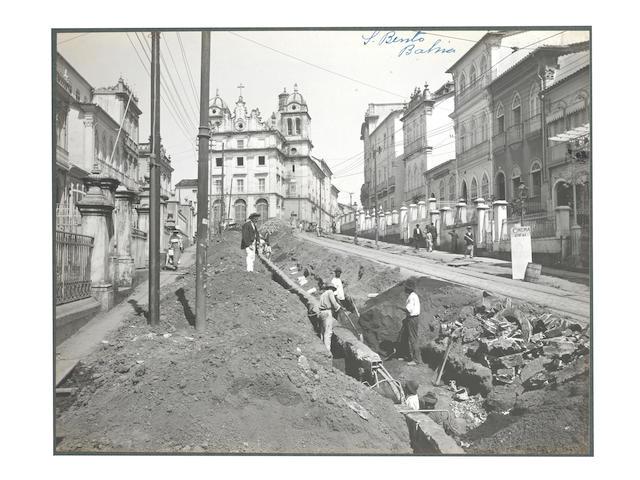BRAZIL, BAHIA An album of 72 city views in Bahia, Brazil, [1912-13]