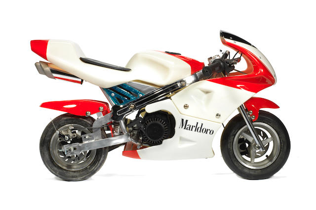 "A ""Minimoto"" 49cc miniature motorcycle,"
