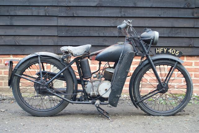 1951 Bown 98cc Mark 1F Frame no. 716.22382 Engine no. BM.38