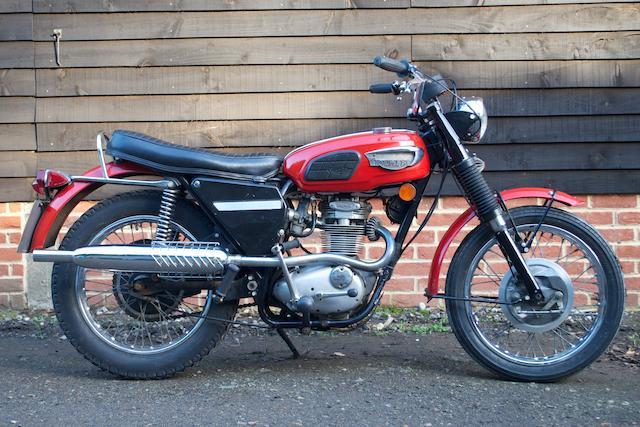 1969 Triumph 250cc Trophy TR25W