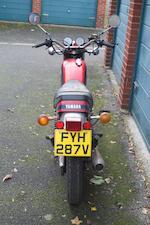 1980 Yamaha 499cc SR500