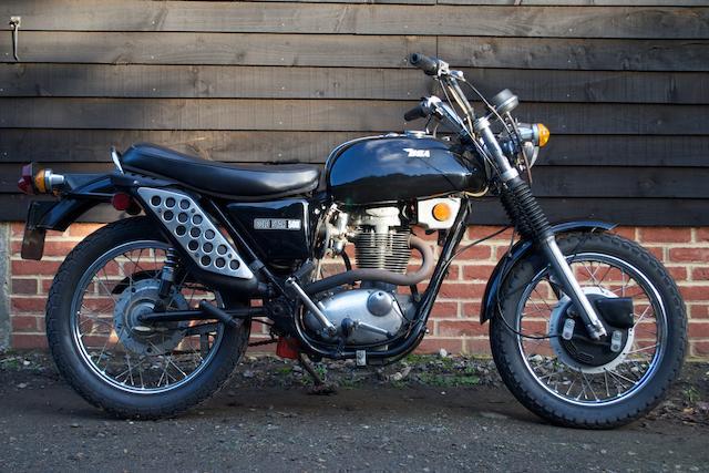 1972 BSA 500cc B50 SS Gold Star