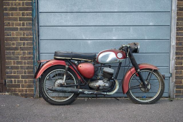 1969 BSA 172cc D14 Bantam Frame no. NC 03804 Engine no. NC 03804