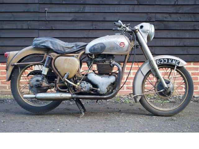 1957 BSA 650cc Golden Flash Frame no. BA78840 Engine no. BA10/11817