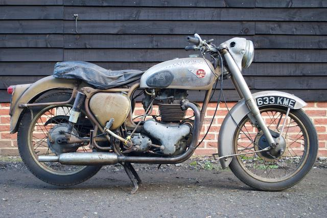 1957 BSA 650cc Golden Flash Frame no. BA78840 Engine no. BA10/11817