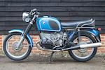1971 BMW 599cc R60/5 Frame no. 2939778 Engine no. 2939778