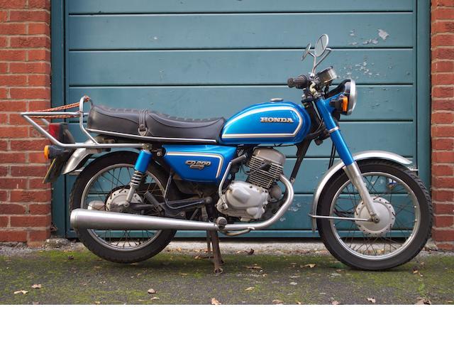 1981 Honda 198cc Benly