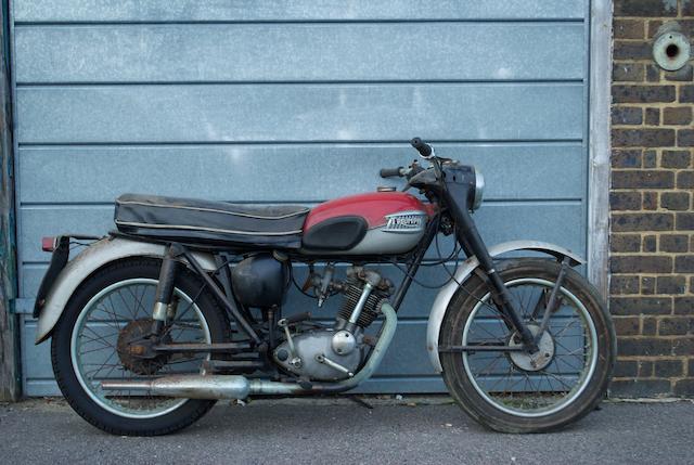 1965 Triumph 200cc Tiger Cub Frame no. T20 3408 Engine no. T20 3408