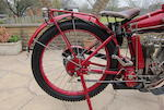 1915 Indian 682cc Model B 'Little Twin' Engine no. 50G946