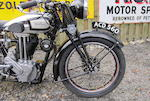1938 Norton 490cc ES2 Frame no. 51107 Engine no. 56901