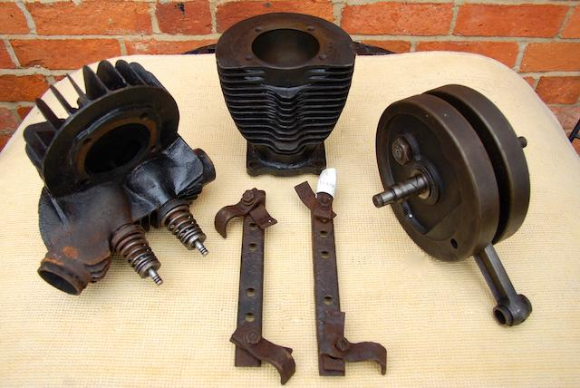 Engine parts for 1928 350cc AJS K5,