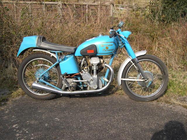 1937 Excelsior 250cc Model G11 Manxman Frame no. MG580 Engine no. BRA100S