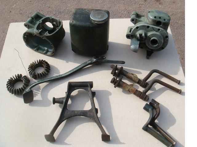 Assorted pre-War Rudge spares,