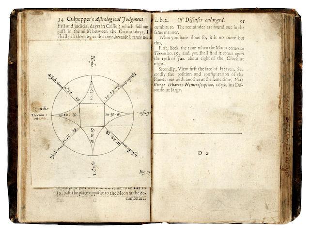 CULPEPER (NICHOLAS) Semeiotica Uranica. Or an Astrological Judgement of Diseases