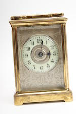 An early 20th century carriage clock 2