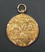 A 1910 MCC Exeter Trail gold finisher's medal, awarded to Arthur J Moorhouse,