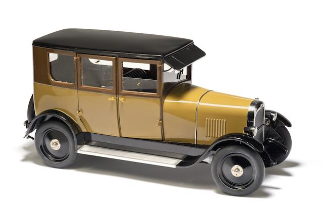 A superb 1:7 scale customized remote-control Citroen B14 Limousine by Brepsom, 1985,