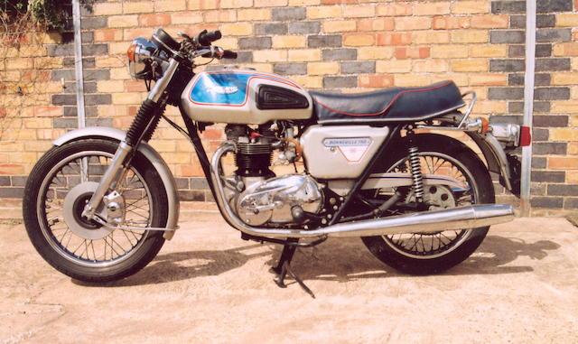 1977 Triumph 744cc Bonneville Silver Jubilee