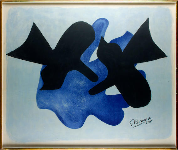 Georges Braque (French, 1882-1963) Oiseaux