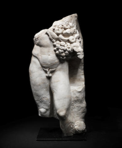 A Roman marble torso of Silvanus