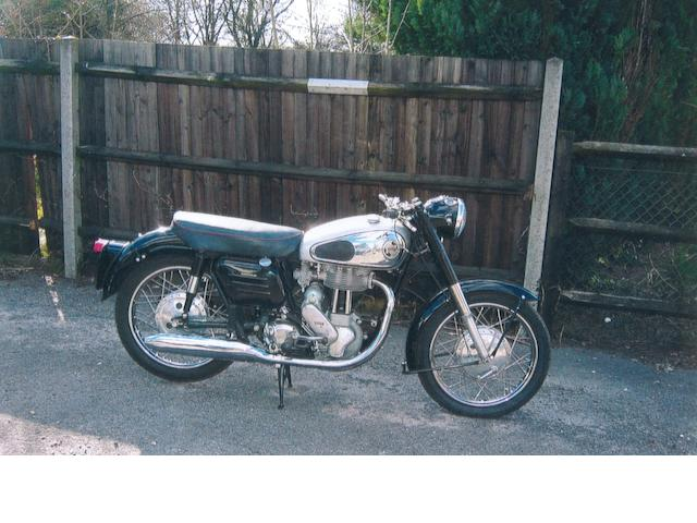 1957 Norton 350cc Model 50