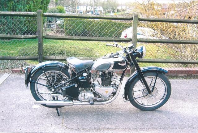 1947 Triumph 350cc 3T