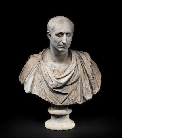 A Roman marble bust
