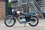 1970 Triumph 649cc T120R Bonneville Frame no. JD57792 T120R Engine no. JD57792 T120R