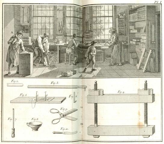 HAAS (HENDRIK de) Volledige beschrijving ... De boekbinder, 1806
