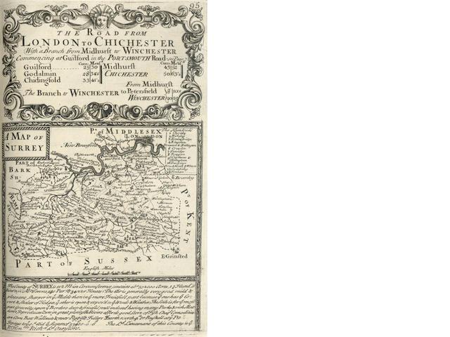 OWEN (JOHN) Britannia Depicta or Ogilby Improv'd, 1720