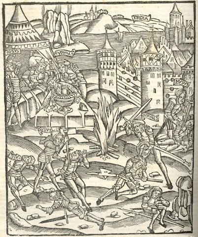 VERGILIUS MARO (PUBLIUS) Opera, lacks 2 leaves, 1544