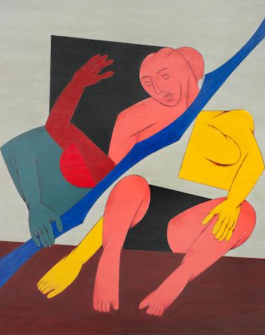 Tyeb Mehta (India, 1925-2009) Untitled,