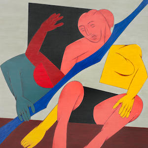 Tyeb Mehta (India, 1925-2009), Untitled,Sold for £505,250 inc. premium