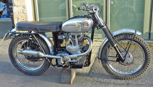 1960 Velocette 500cc MSS Enduro Scrambler