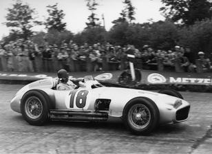 The ex-Works/Juan Manuel Fangio  German and Swiss Grand Prix Winning  1954 2½-litre Mercedes-Benz W1