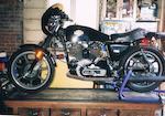 1977 Harley Davidson 1000cc XLCR Cafe Racer Frame no. 7F00 621H7 Engine no. 7F00 621H7