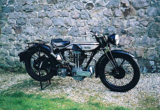 1929 Norton 500cc Model 18 Frame no. 41670 Engine no. 48475